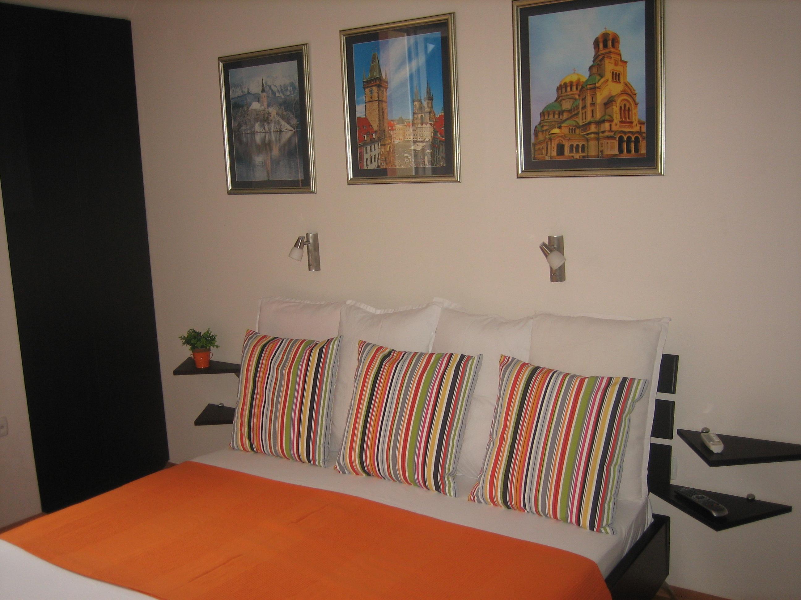 Economy Double Room bedroom.